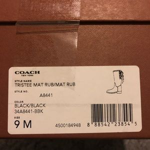 Coach Shoes - COPY - Coach Rainboots